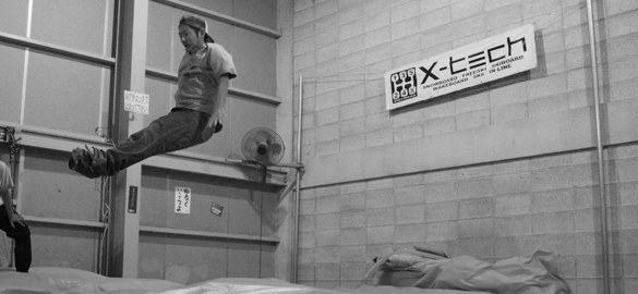 x-tech OSAKA trampolin school